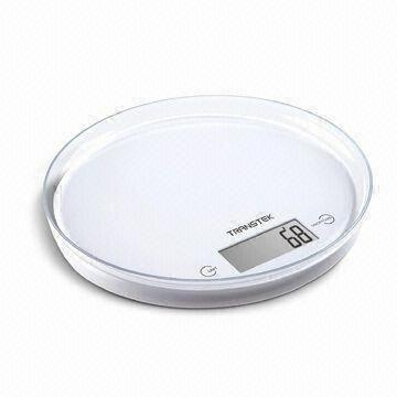 China Kitchen Scale with Transparent and Removable Platform, Measuring 200 x 18mm
