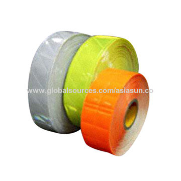 Taiwan Reflective PVC Tapes for Garment or Accessories