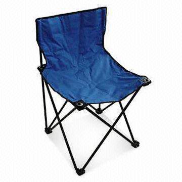 16mm Beach Chair, Customized Designs and Logos are Accepted, Made of 600D Oxford Fabric