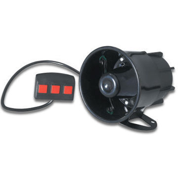 20W Motorcycle/Car Horn and Speaker, Customized Colors are Accepted