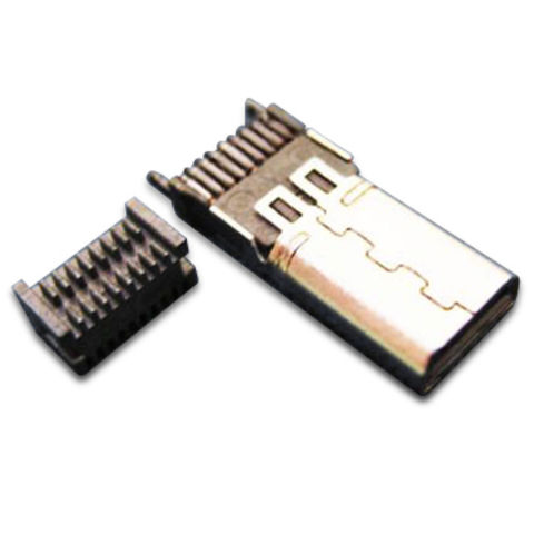 Taiwan MIHDMI/HDMI Connector Adapter with 0.5A Maximum Current Rating
