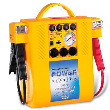 China Jump Start with 13Ah Battery Capacity and 2 x 12V DC Output Socket