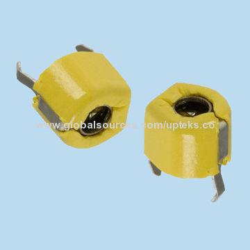 Taiwan MURATA DIP Ceramic 6mm Trimmer Capacitors, 6.8-45pF, 100V, F Type( Top Adjustment), TZ03P450F169B00
