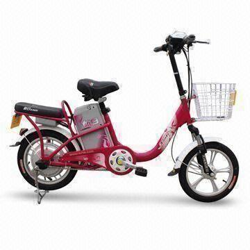 China Electric Bike with 48V, 12Ah Lead-acid Battery, Drum Brake and 350W Motor Power