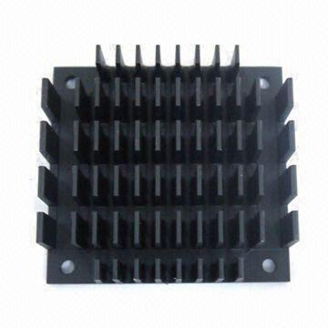 China Heatsink for Vertical Board Mounting, Made of Aluminum Material, Measures 61 x 57 x 13mm