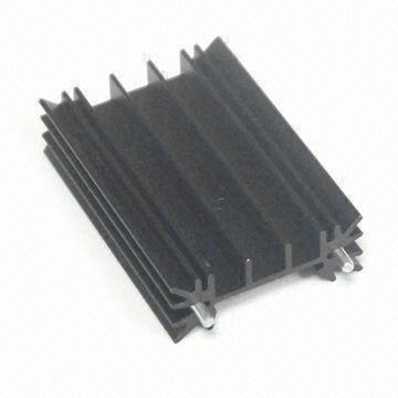 Heatsink, Made of Aluminum 6063-T5 Material, Measures 35 x 51 x 13mm