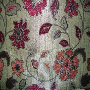 Chenille Fabric Sofa Upholstery