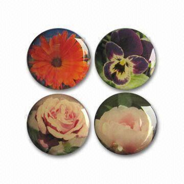 China Epoxy Fridge Magnet, Suitable for Souvenirs and Promotional Gifts, Available in Various Sizes