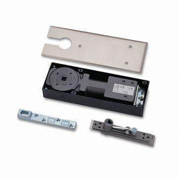 Taiwan Heavy-duty Floor Closer with 150kg Weight, Interchangeable Spindle Tip and 312 x 100mm Cover Plate