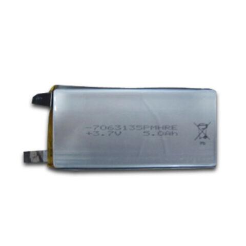 China Li-polymer Battery, Voltage of 3.7V, Capacity of 5.0Ah
