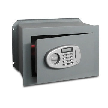 China Electronic Digital Wall Safes with Metal Plate, 3/8 and 2/7mm Thickness, Available in Various Sizes