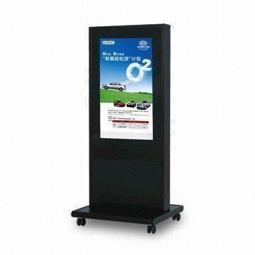 42-inch Floor Standing Advertising Player with Resolution of 1920 x 1080P and Contrast of 1500:1