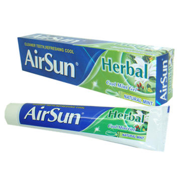 China Herbal Toothpaste, Customized Logos are Accepted, OEM and ODM Orders are Welcome