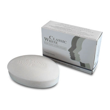 China Classic White Soap, Made of Glycerine, Anti-bacterial