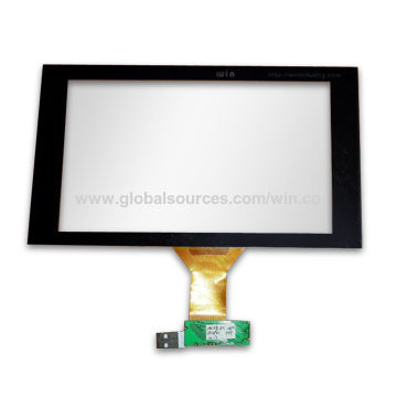 Taiwan Custom-made USB Touchscreen Control Panel Kit with Resistive Type, OEM Orders are Welcome