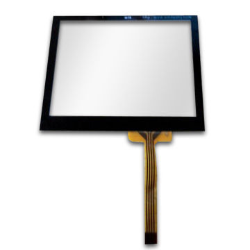 Taiwan Customized Resistive Touch Panel, OEM Orders are Welcome, with PET Glare Hard Coating