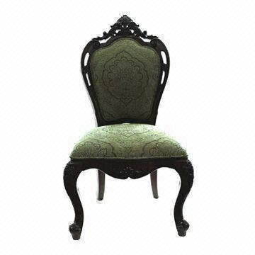 China Solid Wood Dining Chair, Used in Restaurant/Living Room, Measures 600 x 650 x 800cm
