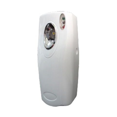 Taiwan Automatic aerosol freshener dispenser with two pieces AA size batteries