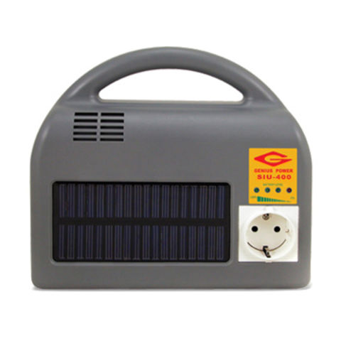Clean Power Supply/Portable Solar Charger and Solar-powered Outdoor UPS with 400W Output Power