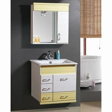 Bathroom cabinet, made of MDF, measures 75x46cm, bathroom cabinet body 16mm MFC, 18mm door pane