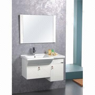 China Bathroom Vanity, Made of PVC, Measures 85x49cm