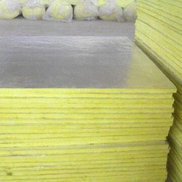 Glass wool insulation board with functions of heat for Glass fiber board insulation