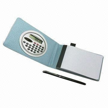China Notepad with calculator