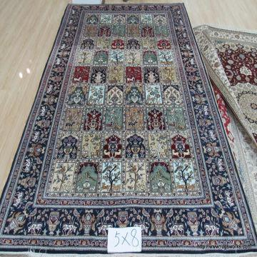 China Hand Knotted Pure Silk High Quality Rugs And Carpets