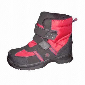 Snow Boots with Hook, Suitable for Baby   Global Sources