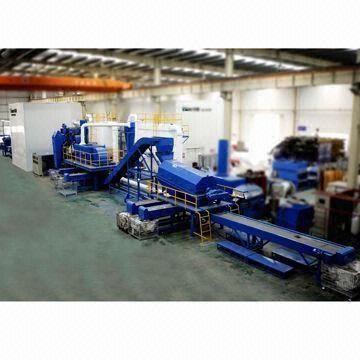 China ELV Crushing and Separation Equipment, Scrap Steel Crushing and Separation Plant