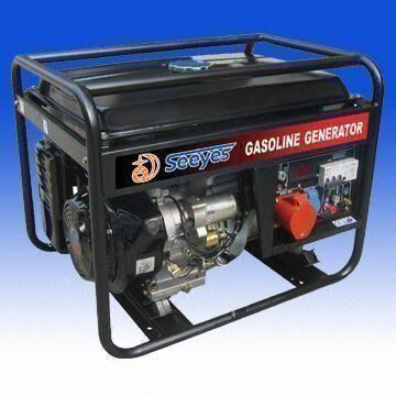 China 3-phase Gasoline Generator with AVR and 13.0HP/3,600rpm Maximum Output