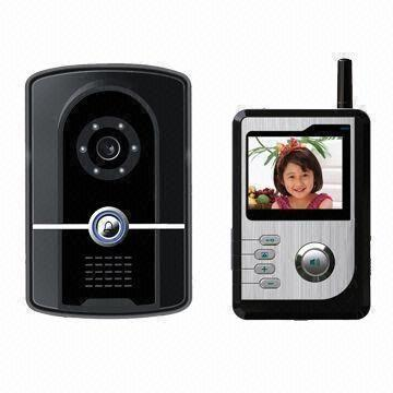 Wireless Video Door Entry System With Built In Battery And Rfid Card