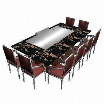 durable gas teppanyaki grill made of stainless steel and. Black Bedroom Furniture Sets. Home Design Ideas