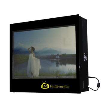 Hong Kong SAR High-resolution 19-inch LCD Advertising Player with Built-in Speaker and Memory