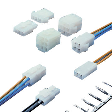 wafer connector for 2.00Ø Wire to Wire Power Connectors