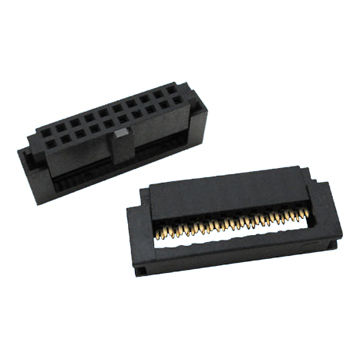 Taiwan 1.27 x 1.27mm IDC Socket with Copper Alloy Contact
