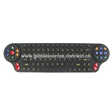 Taiwan Customized 6-color Laser-etched Rubber Keypad with Epoxy Coating and Backlight Feature