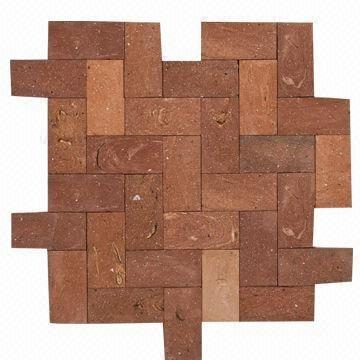 Ceramic Tiles Mosaic Red Stone No