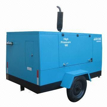 China Portable Diesel Engine Screw Industrial Compressor with Intelligent Control System