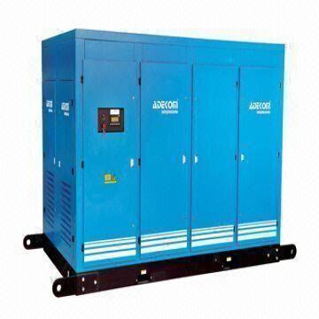 China 355kW Big Capactiy Rotary Screw Air Compressor with Good Performance/Intelligent PLC Control Panel