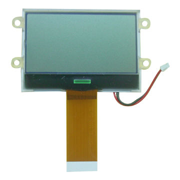 LCD Module, 128 x 65 COG + FPC, White LED Backlight