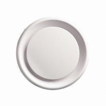 Round Ceiling Diffuser Made Of Impact Resistant Abs