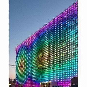 Glass Wall Led Screen Compact Design Lightweight