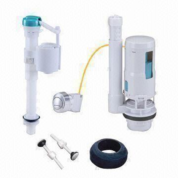 Toilet Repair Kit With Wire Activated Flush Valve And