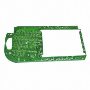 Hong Kong SAR FR-4 1.6mm Double-sided PCB with Thick Gold Plating