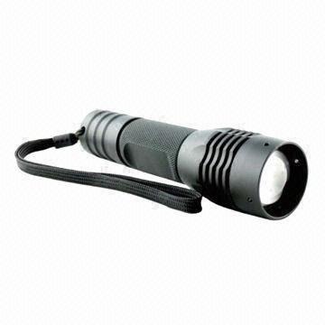 China LED Flashlight, 1000lm Luminous Flux