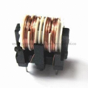China Through-hole Common Mode Choke Coil, Suitable for EMI Suppression and Power EMI Noise Filter