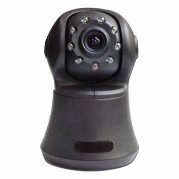 Wireless IP Camera with Night-vision, Wi-Fi Router, 2-way Audio/Motion Detect Record