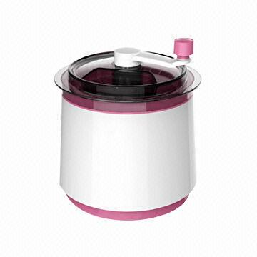 China Ice Cream Maker with 0.8L Capacity, Makes Ice Cream for Only 10 to 15 Minutes