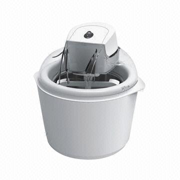 China Ice Cream Maker with 12W Power and Double Insulation